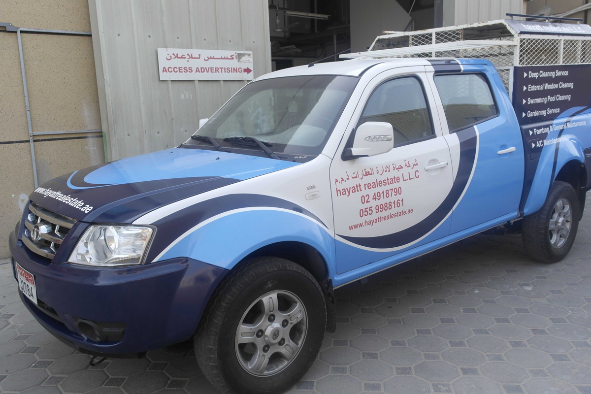 Vehicle graphics Company in UAE