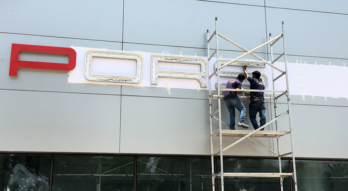 Signboard Company in UAE